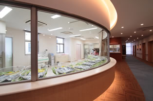 新生児室(2F)
